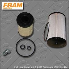 KIT di servizio SKODA OCTAVIA (1Z) 1.6 TDI FRAM olio filtri di carburante (2009-2013)