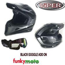 Casques brillants Viper pour véhicule