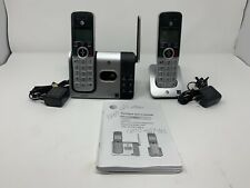 At&T 2 Handset Cordless Answering System w/ Caller Id/Waiting Dect 6.0 Cl82214