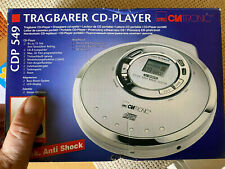 CLATRONIC CDP 549 - Tragbarer CD Player Compact disc Player CD Spieler