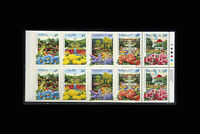 Canada, Sc #1315b, MNH, 1991, Cpl Booklet, Flowers, plants, flora TDD-A