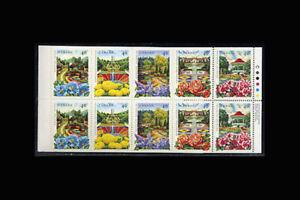 Canada, Sc #1315b, MNH, 1991, Cpl Booklet, Flowers, plants, flora TDD-A