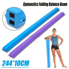 244Cm Gymnastics Folding Balance Beam Horizontal Skill Performance Training