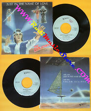 LP 45 7'' THE CREATURES Just in the name of love Solar eclipse 1985 no cd mc dvd