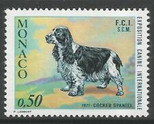 STAMPS-MONACO. 1971. Monte Carlo Dog Show Commemorative. SG: 1007. MNH.
