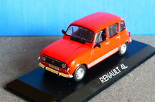 RENAULT 4L 1977 RED EDICOLA 1/43 R4 ROUGE ROSSO ROT 1/43 LHD LEFT HAND DRIVE
