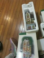 Dept 56 The University Club Heritage Village Christmas in the City