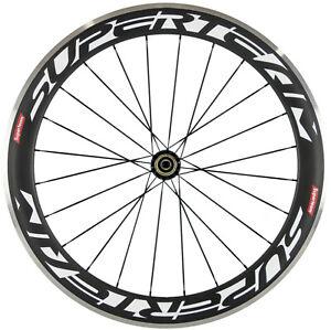 60mm Rear Carbon Wheel Alloy Brake Surface Carbon Wheel Road Bike R36 Hub 3k Mat