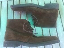 Ladies Boots Boden Leather Suede Upper Brown size 8 Euro 42  BN