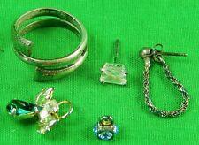 Vintage Lot Sterling Silver 925 Ring 2 Earrings Earring 2 Pendant