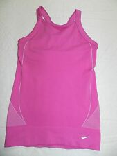 WOMENS SHIRT = NIKE = SIZE Medium / Large = pink tank sport athletic = me70