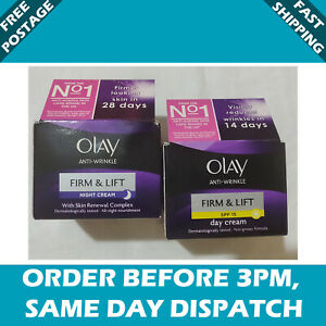 Olay Anti-wrinkle Firm & Lift with Skin Day and Night Cream - 50ml