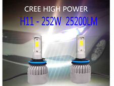 H4 H7 H1 CREE 200W LED Headlight Kit Car High Low Beam Globes Bulb Upgrade 6500K
