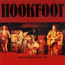 HOOKFOOT - Live In Memphis 1972 / Radio Show - CD SPM
