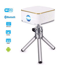 3D Mini Projector 1080P Android Portable Smart DLP Wifi Cube Video Projector