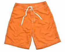 Stussy Mens Size 32 Orange Surfboards Board Shorts