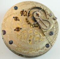 Illinois Pocket Watch Movement - Grade 65 - S - Spare Parts / Repair