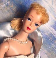 Vintage Barbie #5 5 Ponytail Sunshine Blonde DANGEROUSLY PRETTY!