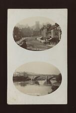 Worcestershire Worcs BEWDLEY biview Load St & Bridge RP PPC Used 1915