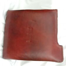 Lane Leather RIGHT FACING Red Brown Marble Replacement Sofa Love Seat Cushion