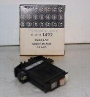 1-Pole 1 Amp Din Rail Circuit Breaker Allen-Bradley 1792-G010  NEW