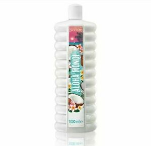 AVON Aloha Mondoi Bubble Bath 1 Litre Coconut & Tiare Flower Fragrance