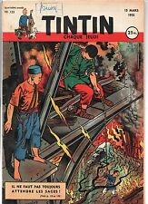 Journal TINTIN n° 125 du 15 mars 1951. Bel état