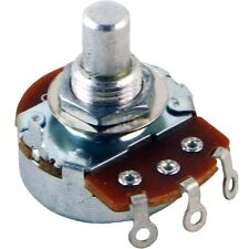 """Alpha 3/8"""" Bushing Potentiometer, 10k Linear 10KB 1/4"""" solid shaft solder tabs"""