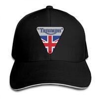 Triumph Motorcycles Logo Snapback Baseball Hat Adjustable Cap