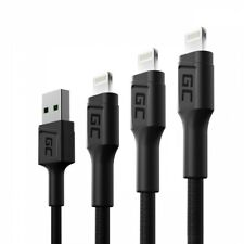 Set 3x GC Ray Lightning-Kabel 30/120/200 cm weiß LED Schnellladung Apple 2.4A