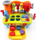 CifToys Musical Learning Workbench Toy for Kids Construction Work Bench Building