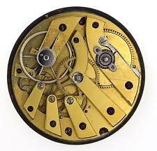 SWISS LEVER POCKET HIGH GRADE 30 HOUR CHRONOMETER WATCH MOVEMENT SPARES R68
