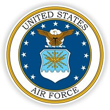 United States Air Force Sticker US Military Seal for Laptop Bumper Luggage Door