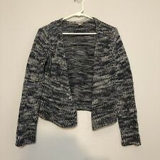 J. Jill Navy Blue Knit Cardigan Sweater Women's Small