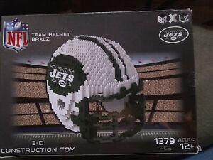 NY Jets Team Helmet Brxlz 3-D Construction Toy