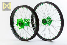 Kite Sports Billet Alloy Wheel Rim Set Kawasaki MX Dirt KX125 KXF250 KX250F