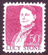 #1293a LUCY STONE, TAGGED.WHOLESALE LOT OF (10) MINT SINGLES. F-VF NEVER HINGED!