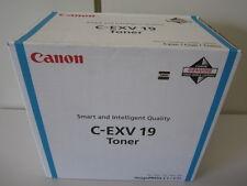 Original Toner Canon C-EXV19  cyan für imagePRESS C1 / C1+  0398B002