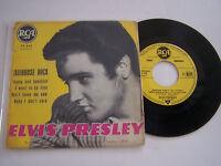 EP 4 TITRES VINYLE 45 T ELVIS PRESLEY , JAILHOUSE ROCK . G / EX . RCA 75.432 .