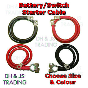Battery & Starter Strap Cable Positive Earth Strap 16mm² 110a Car Boat Marine