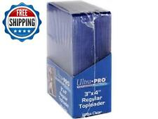 """200pc 3x4"""" Top Loaders & Soft Penny Sleeve Set For Collection Card Protection"""