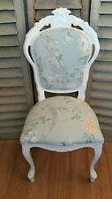 Laura Ashley 'summer palace '  louis french style boudoir chair in eau de nil