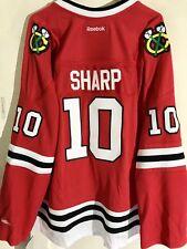 Reebok Women's Premier NHL Jersey Chicago Blackhawks Patrick Sharp Red sz 4X