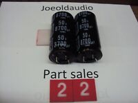 JVC R-S55 Receiver Filter Capacitors 50V 8700UF. Parting Out Entire JVC R-S55