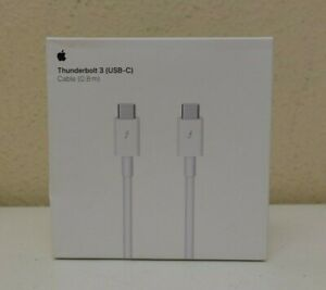 GENUINE Original Apple Thunderbolt 3 USB-C Cable 0.8 m (MQ4H2AM/A) (10D)
