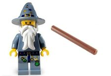 LEGO The Good Wizard Minifigure 5614 Castle Kingdoms Fantasy with Wand  NEW