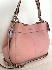 New Coach F28992 small Lexy Pebble Leather Shoulder Bag handbag Petal