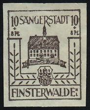 Lokalausgabe Finsterwalde Mi.Nr. 6 yy postfrisch geprüft BPP Mi.Wert. 80€ (5502)