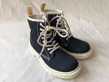 Dr Martens Delaney Navy Textile Boots UK 12 EU 31