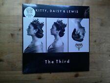 Kitty, Daisy & Lewis The Third Near Mint WHITE Vinyl Record SBESTLP64W